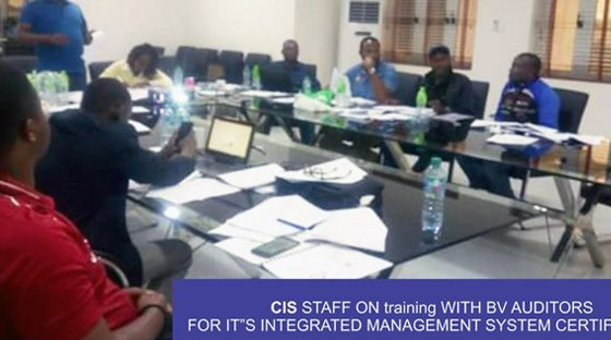 CIS integrated management system Training with Brookstone Consultants