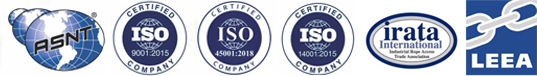 ISO LOGO AND IRATA LOGO